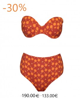 Antonella Bikini red birds