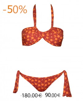 Glykeria Bikini red birds