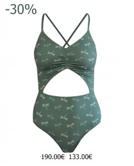 Penelope One-piece green