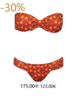 Zoe Bikini red birds